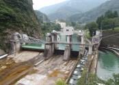 姫川第六発電所 取水堰堤